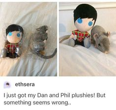 What's wrong with it, dan is a rat