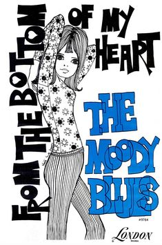 Press ad for 'From The Bottom Of My Heart' by The Moody Bles, 1966