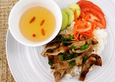 Order Chef Vi's Grilled Pork Plate (Com Thit Nuong) for $9 on mytable.org