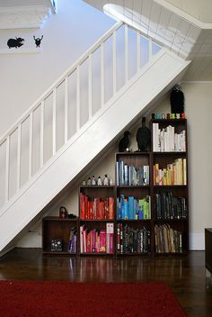 Another under the stairs bookshelf.