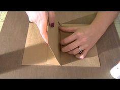 Envelope page for mini album tutorial! - YouTube