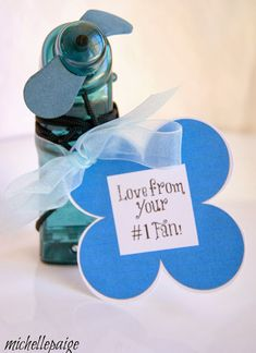 michelle paige: An Encouraging Gift Idea-- #1 Fan printable