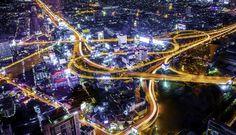 From Baiyoke Tower II, BKK #Thailand #Photography