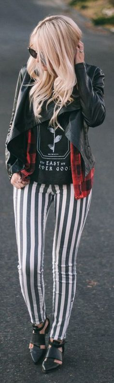 Checks And Stripes