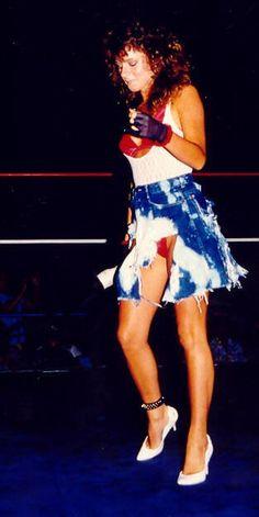 Womens Pro Wrestling: Dirty White Girl - Kimberly Anthony