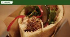 Los panes rellenos de falafel, kebab o shawarma típicos de Oriente Próximo se suelen transformar en España en comida rápida guarrindonga. El restaurante Parking Pita nos enseña a devolverles la dignidad.