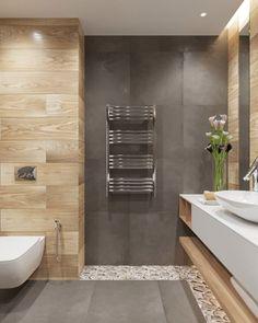 The Rise of Stunning Plywood Bathroom Wall Design Ideas – homedecorsdesign Rustic Bathrooms, Dream Bathrooms, Amazing Bathrooms, Modern Bathroom, Bathroom Styling, Bathroom Interior Design, Interior Design Living Room, Bad Inspiration, Bathroom Inspiration