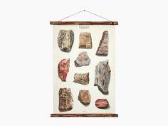 Image of rocks - geology chart