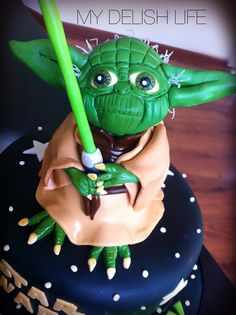 Yoda Yoda Cake Star Wars Cake All Edible