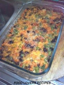 Gebakte Niknaks Groenbonegereg Veg Dishes, Savoury Dishes, Vegetable Dishes, Side Dishes, Savoury Baking, Kos, Green Bean Recipes, Vegetable Recipes, Camping Dishes