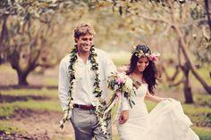 Photography: Tamiz Photography - tamizphotography.com  Read More: http://www.stylemepretty.com/2014/08/29/boho-chic-maui-wedding/