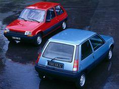 Renault 5 was my car Volkswagen Up, Volkswagen Rabbit, Porsche 924, Audi Q3, Honda Civic, Renault Super 5, Peugeot, Renault Nissan, Matra