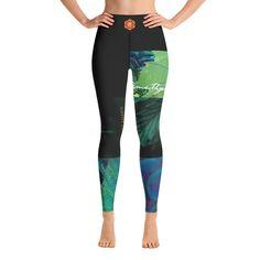 Queen Chakra Yoga Leggings By amethyst_amaris Yoga Leggings, Custom Logos, Chakra, Hand Sewing, Amethyst, Queen, Fabric, Fashion, Moda