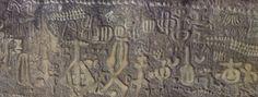 Detalle de la Piedra de Ingá.