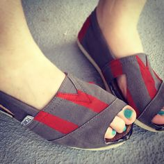 diy: toms sandals