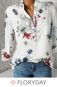Shop Floryday for affordable Short Sleeve Blouses. Floryday offers latest ladies' Short Sleeve Blouses collections to fit every occasion. Look Fashion, Fashion Outfits, Fashion Blouses, Fall Fashion, Fashion Women, Fashion Online, Fashion Hoodies, Classy Fashion, Fashion Fashion