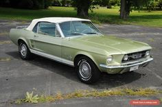 1967 Ford Mustang Convertible 2-Door #ford #mustang #forsale #unitedstates