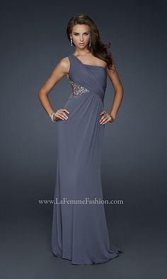 Long One Shoulder Formal Dress