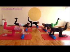 Pilates Foam Roller, Foam Rollers, Le Pilates, Youtube, Workout, Sport, Fitness, Pilates Workout, Stretch Bands