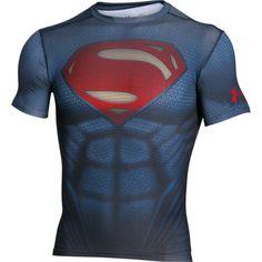 472232eb1 Pánské kompresní tričko Under Armour Superman Suit Atletické Oblečení,  Sport Outfits, Košile, Neformální