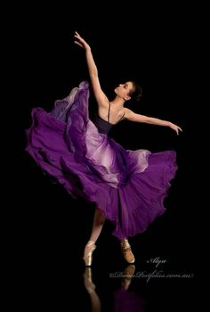 Ballet in Purple