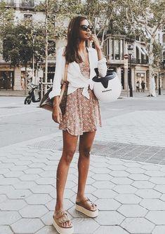 b6455cc333de Casual Fall Outfits, Boho Outfits, Spring Outfits, Summer Skirt Outfits,  Trendy Outfits