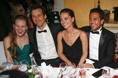 Pin for Later: So verbrachten die deutschen Stars das Wochenende Alicia von Rittberg, Florian David Fitz, Julia C. und Elyas M'Barek beim Deutschen Filmball in München