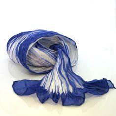 bomakishibori1--how to make a shibori scarf.  So pretty