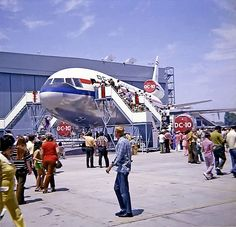 DC-10 Rollout Ceremony in 1970.