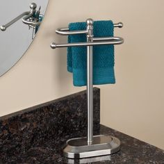 Flagstaff Countertop Towel Holder But Is It Tall Enough To Hold A Regular Hand Or Only Fingertip Towels