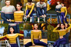 "sandy-sims: "" ""Skate Date"" Pose Pack! Sims 4 Couple Poses, Couple Posing, Family Posing, Couple Shoot, Family Portraits, Sibling Poses, Kid Poses, Newborn Poses, Sims 4 Cc Skin"