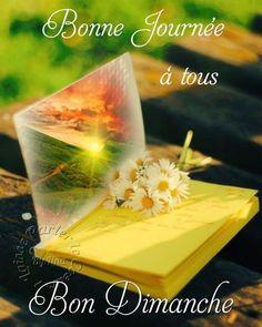 Bonne Journée à tous Bon Dimanche Bon Mardi, Morning Greeting, Good Morning Quotes, Messages, Day, Twitter, Smiley, Annie, Posters