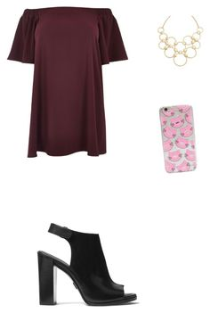 """Sin título #109"" by cande-izzo on Polyvore featuring moda, River Island, Vera Bradley, Michael Kors y plus size dresses"