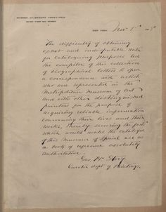 George Henry Story's collection of artists' letters George Henry, Period Costumes, Lincoln, Storytelling, Letters, Writing, Digital, Artist, Vintage Outfits