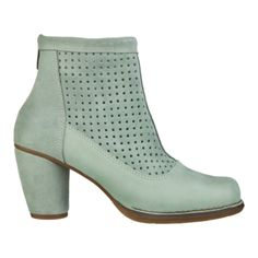 N467 CRUST LEATHER-LUX SUEDE MINT / COLIBRI