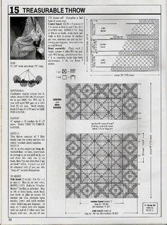 Schemi per il filet: Un centro rettangolare a filet