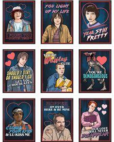 Amazing Stranger Things Valentines