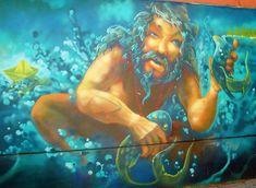 #Μεταλλαγμένο #πλάσμα, #ημίθεος ή #θεός της #θάλασσας; #Βαλκάνια #Ελλάδα #Ελλάς #Μακεδονία #Θεσσαλονίκη Painting, Art, Art Background, Painting Art, Kunst, Paintings, Performing Arts, Painted Canvas, Drawings