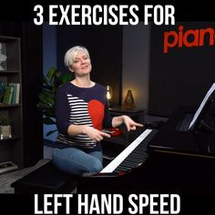 You Left, Piano Lessons, Left Handed, Excercise, Did You Know, Tutorials, Hands, Music, Easy