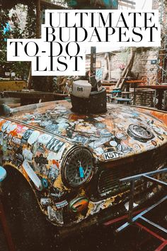 The Ultimate Budapest To-Do List Are you to Only have a short amount of time? Check out my ULTIMATE Budapest To-Do List for everything you NEED to fit into your itinerary! Visit Budapest, Budapest Travel, European Destination, European Travel, European Tour, Travel Europe, Budapest Things To Do In, Buda Castle, Hungary Travel
