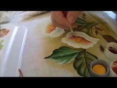 Pintura em Tecido - Série Iniciante Copo de Leite - Flor - Graça Tristão