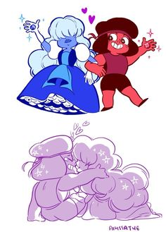 Steven universe ruby and sapphire - Google Search
