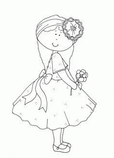 Dearie Dolls Digi Stamps | Free digital images and a little poetry to read.