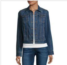 St. John's Bay Denim Jacket Women 2X #StJohnsBay #JeanJacket #Casual