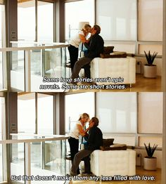 """Some love stories.."" ~ SATC Quotes ~ Sex and the City (2008) ~ Movie Quotes"