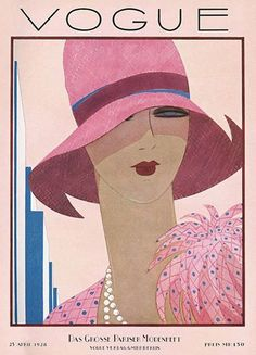Vintage Vogue cover by Harriet Meserole, May 1927 Vogue Vintage, Vintage Vogue Covers, Art Vintage, Vintage Posters, Vintage Glamour, Art Deco Illustration, Mode Vintage Illustration, Vintage Illustrations, Vogue Magazine Covers