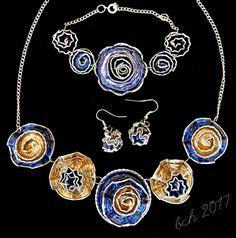Nespresso art- necklace, bracelet and earrings