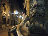 Creepy cool fountain in Florence