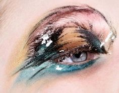 BROW INSPIRATION : COLORED BROW 7