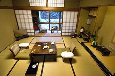 Ryokan + Tatami Floor Seated Dining - You Can Create in Your Outdoor Room